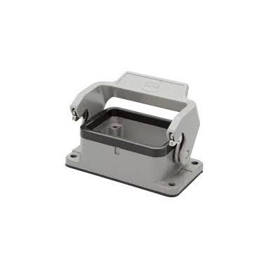 3_Connectors_Housing_Panel mount single lever