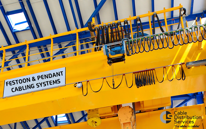 Pendant & Festoon Cables for Material Handling