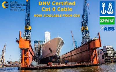 DNV Certified Cat 6 cables now available